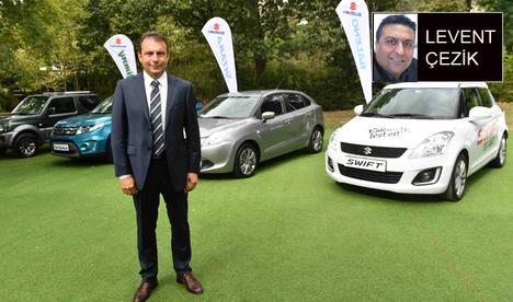 Suzuki Türkiye'de hedefini büyüttü