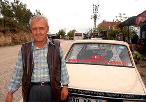 Dolandırıcılar için otomobilini sattı!