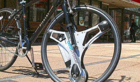 Her bisikleti elektrikliye dönüştüren tekerlek!