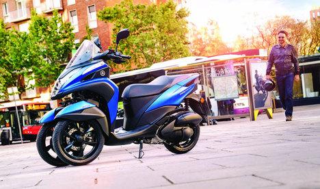 Yamaha Tricity büyüdü!