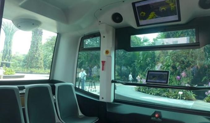 Sürücüsüz otobüsler test sürüşüne hazır