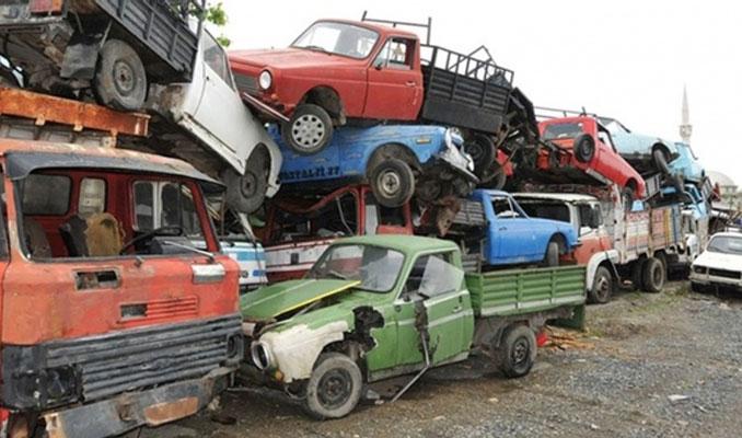 66 bin 500 hurda araç ekonomiye kazandırıldı