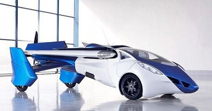 Uçan otomobil 2018'de hazır