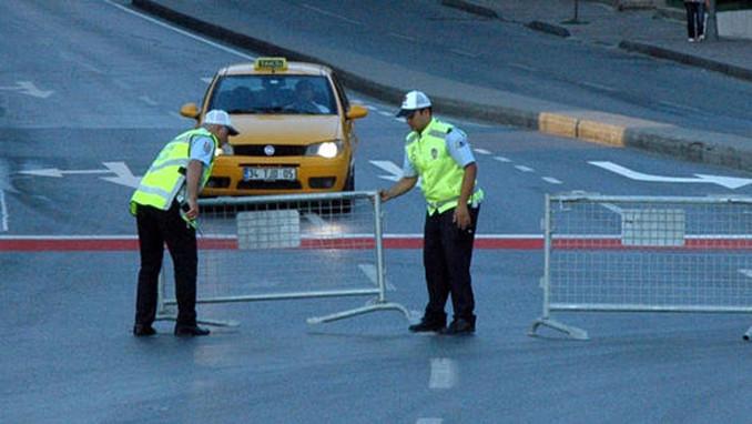 İste İstanbul'da bugün kapatılacak yollar