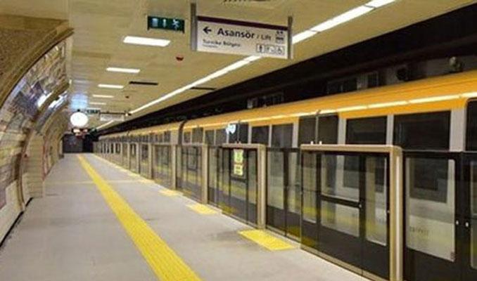 İstanbul'da o metro hattı geçici olarak hizmet vermeyecek