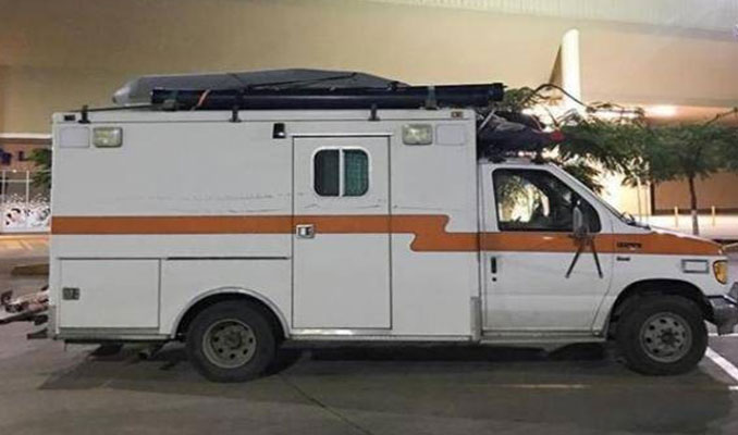 Eski bir ambulanstı! Son halini gören kimse inanamadı