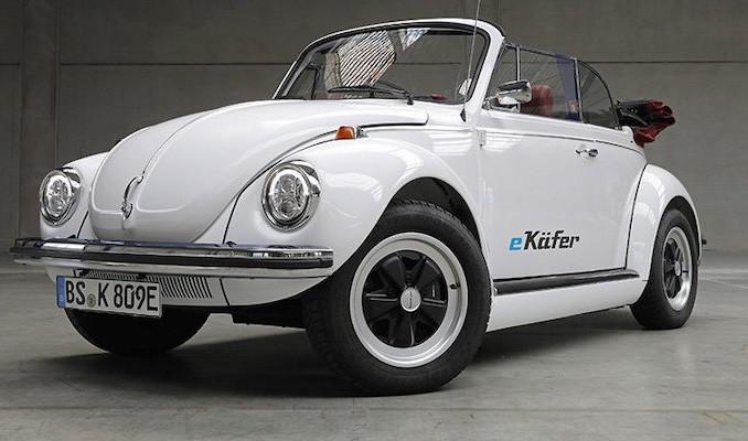 Klasik Beetle modeli elektrikli araca dönüşüyor