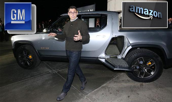 Amazon ve GM'den Tesla'nın rakibine 2 milyar dolarlık yatırım hazırlığı