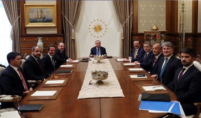 Erdoğan, Türkiye'nin Otomobili Girişim Grubu'yla görüştü