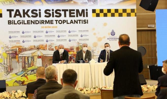 İBB, yeni taksi yönetim modelini kamuoyuna tanıttı