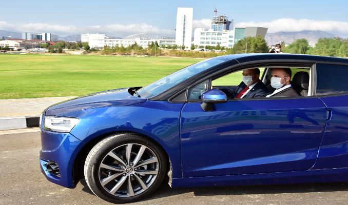 Kıbrıs'ın yerli otomobili test sürüşünde: GÜNSEL B9