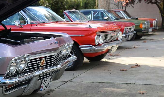 Hurdadan klasik araç kolleksiyonuna