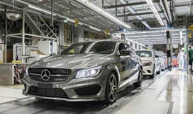 Daimler, Avrupa'daki üretiminin büyük bölümünü durdurdu