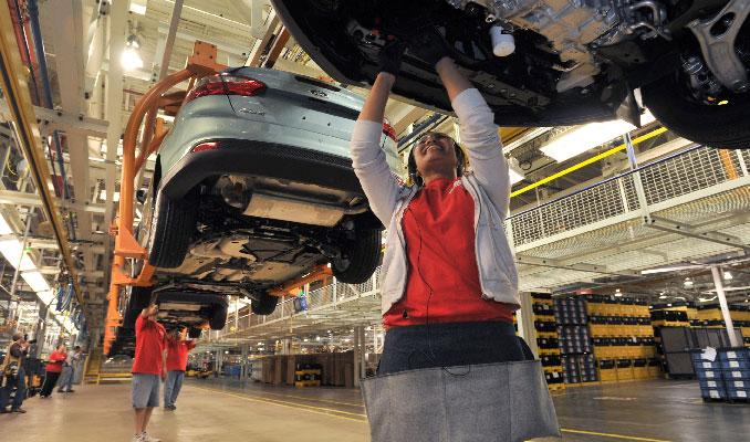 ABD otomotiv sektörü 2 ay sonra faaliyete başladı