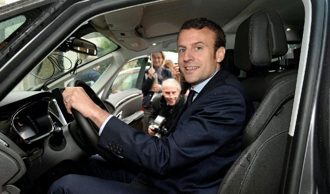 Macron açıkladı: Çevreci araçlar için 7 bin euro hurda kredisi