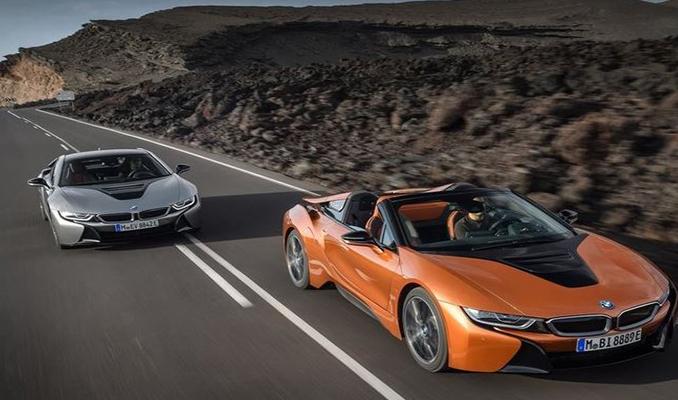 BMW i8'in üretimi sona erdi! Son araç banttan indi