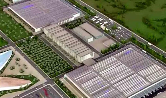 Yerli otomobilin fabrikası böyle olacak