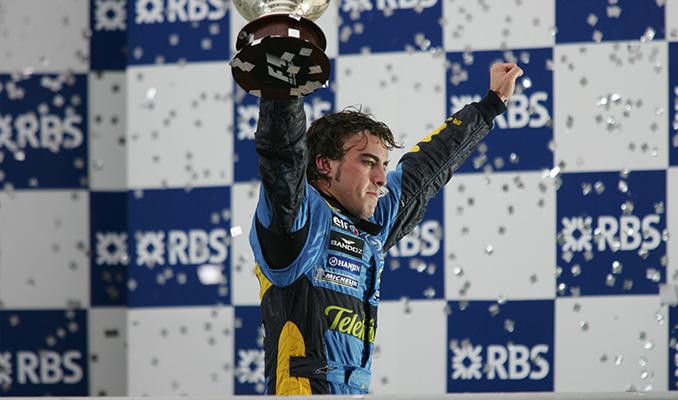 Fernando Alonso yeniden Renault DP World F1 Takımı'nda