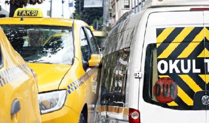 İstanbul'da taksi ve servisçiler için yeni dönem