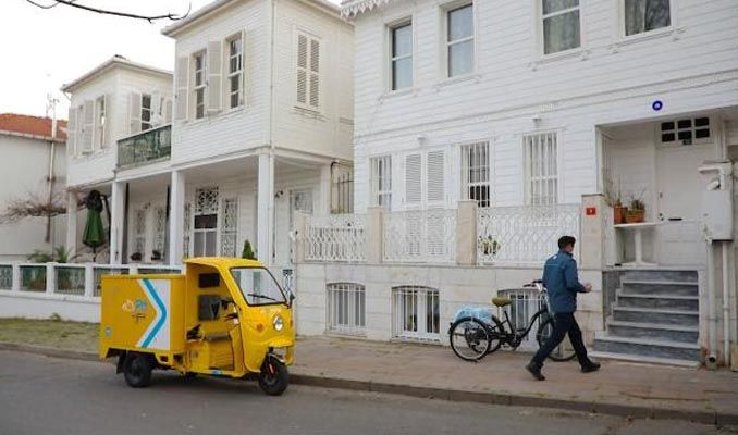 Elektrikli araçlar Adalar'da hizmete başladı