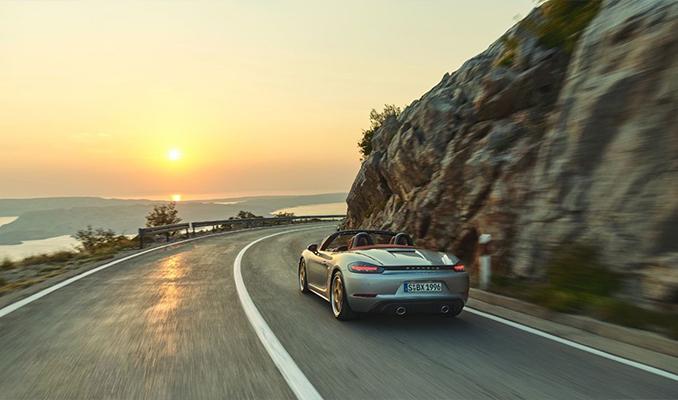 Porsche'den 25. yıla özel model