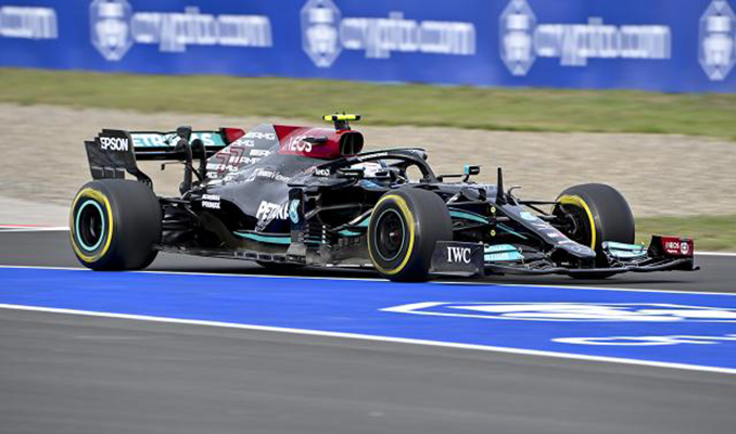 Türkiye Grand Prix'sini Valtteri Bottas kazandı