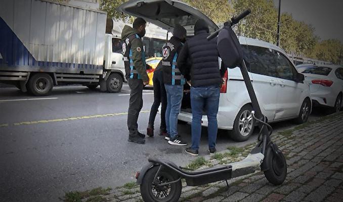 Scooter'da kurallar değişti: Ceza yağdı!