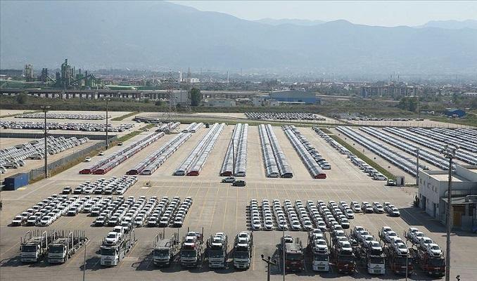 Otomotiv endüstrisi Eylül'de 2,5 milyar dolarlık ihracat yaptı