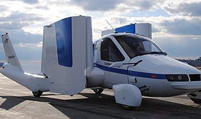 Uçan otomobil ABD'den izin aldı
