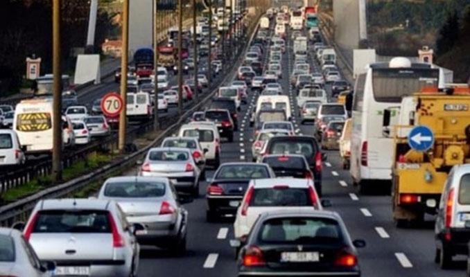 Ocakta 117 bin 313 araç trafiğe çıktı