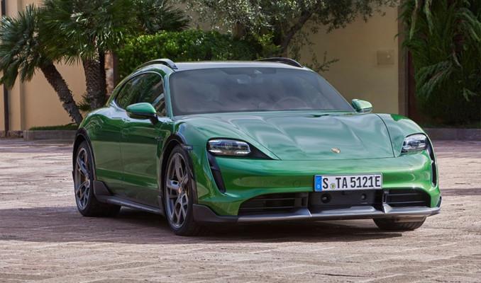 Porsche ilk tamamen elektrikli otomobil CUV modeli tanıttı