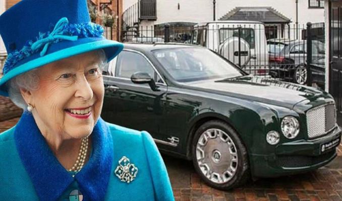 Kraliçe II. Elizabeth'ten satılık otomobili