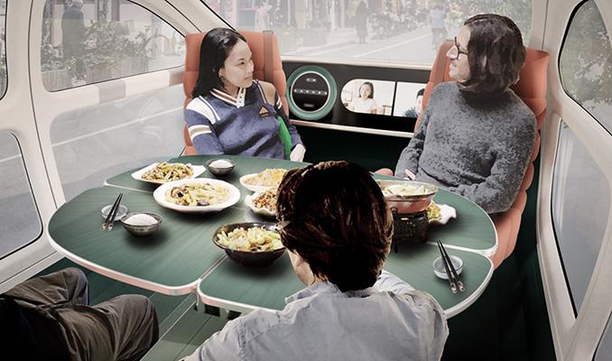 Atmosferi temizleyen sürücüsüz otomobil 2023'te yollarda olacak