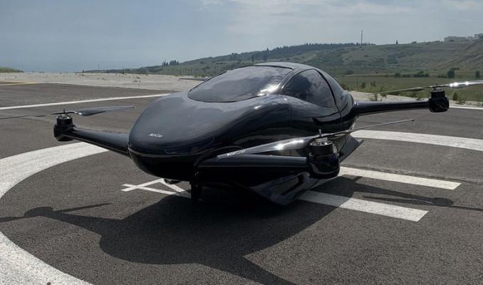 İşte yerli uçan araba