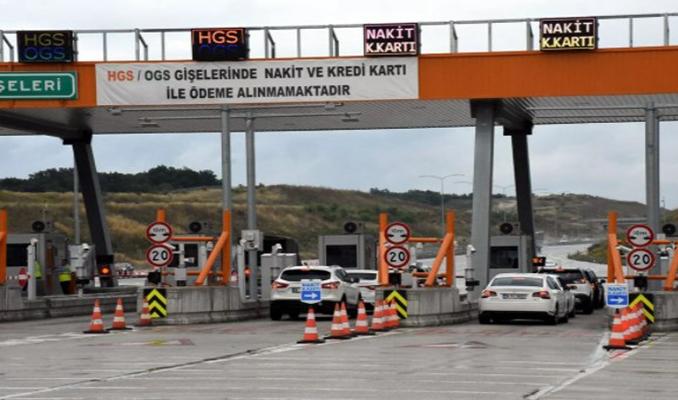 İstanbul-İzmir Otoyolu'nda gişede yeni uygulama