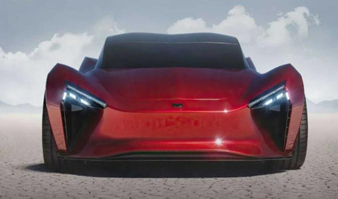 Hindistan'ın yeni hiper otomobili