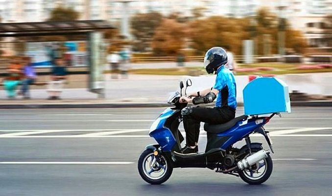 Trafikte motokurye savaşı