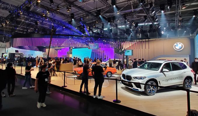 Geleceğin otomobilleri Münih Otomobil Fuarı'nda