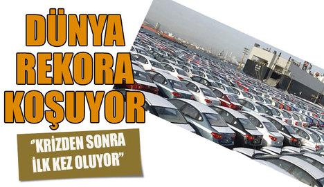 Araç satışı rekora koşuyor