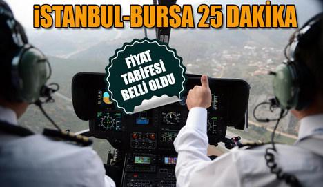 Bursa'da bir İstanbul'da üç heliport!
