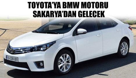 BMW motorlu ilk Toyota Sakarya'da üretilecek