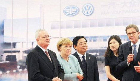 Volkswagen'den Çin'e 2 yeni fabrika