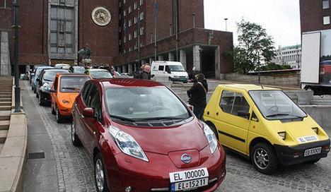 Norveç'te gündem elektrikli otomobiller