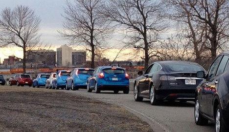 Elektrikli araç sahiplerinden rekor denemesi