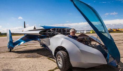 Uçan otomobilin yaratıcısı geliyor
