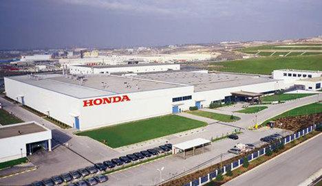 Honda Türkiye'ye 'modern' teşvik
