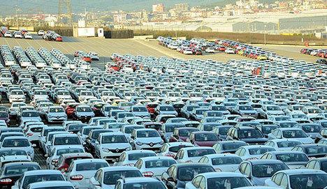 AB'ye otomotiv ihracı tam gaz