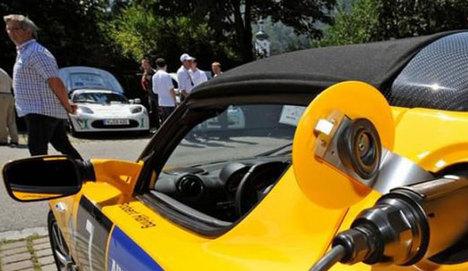 Almanya'nın elektrikli otomobil hamlesi