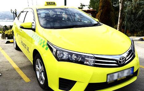 İşte Türkiye'nin ilk elektrikli taksisi