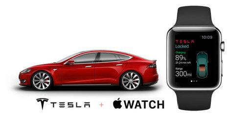 Apple Watch Tesla otomobilleri kontrol edecek